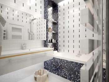 Мозаика для ванных комнат
