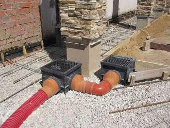 Защитные дренажные системы для загородного дома