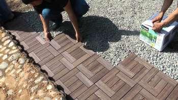 Дорожки во дворе своего дома или на даче делаем сами Строительный маклер