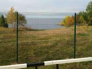 Забор из сварной сетки с ПВХ покрытием