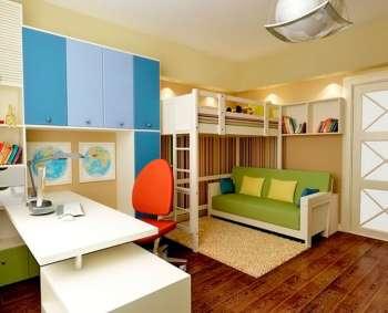 Какая самая красивая отделка детской комнаты?