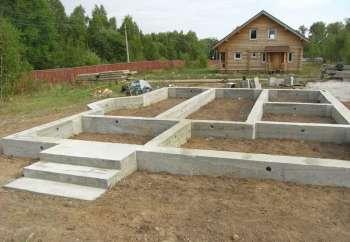 Коттеджное строительство: какой фундамент лучше для дома из бруса?