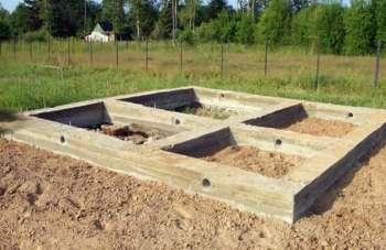 Ленточный фундамент под баню своими руками пошаговая инструкция 86