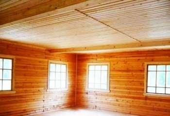 Популярные варианты оформления сводов деревянных постройках
