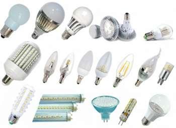 Светодиодные лампы в магазине NOVOLAMPA